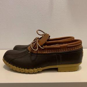 Mens L.L. Bean Boots Rubber Moc - Size 7 (NWOT)